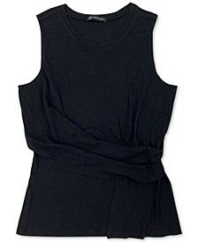 INC Twist-Front Tank Top, Created for Macy's