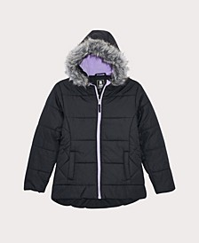 Little Girls Quilted Puffer Coat