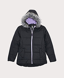 S Rothschild & CO Little Girls Quilted Puffer Coat