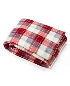 Bluff Plaid Blanket, Twin