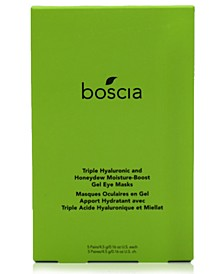 Triple Hyaluronic & Honeydew Moisture-Boost Gel Eye Masks