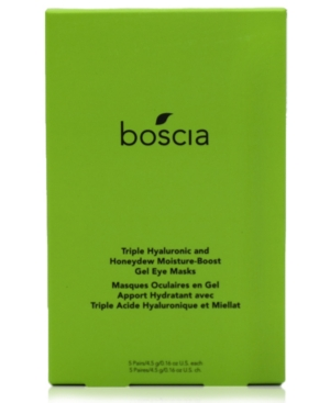 Triple Hyaluronic & Honeydew Moisture-Boost Gel Eye Masks