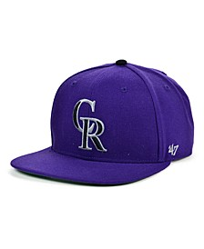 Colorado Rockies Coop Shot Snapback Cap