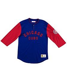 Men's Chicago Cubs Player Henley Shirt