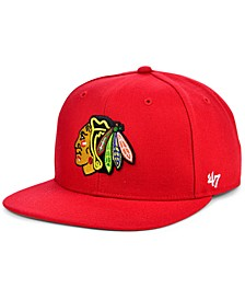 Chicago Blackhawks No Shot Snapback Cap
