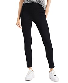 Juniors' High-Waist Booty-Lifting Leggings