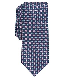 Men's Neat Floral Slim Tie, Created for Macy's