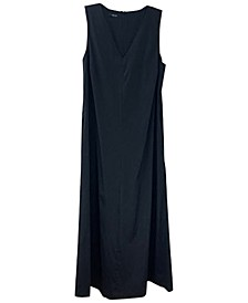 Cinched V-Neck Midi Dress, Created For Macy's
