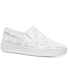 Keaton Signature Logo Slip-On Sneakers