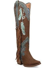 Women's Dream Catcher Leather Boot