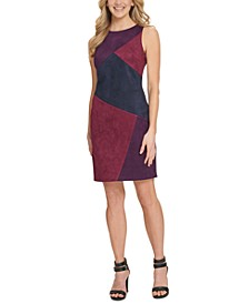 Colorblocked Sheath Dress