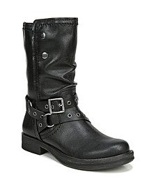 Faith Mid Shaft Boots