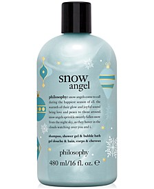 Snow Angel Shampoo, Shower Gel & Bubble Bath, 16-oz.