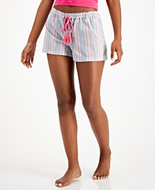 Printed Pajama Shorts, Created for Macy's