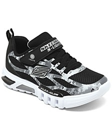 Little Kids S Lights Flex-Glow Taren Slip-On Casual Sneakers from Finish Line