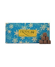 1 LB Holiday Wrapped Sea Salt Caramel Box of Chocolates