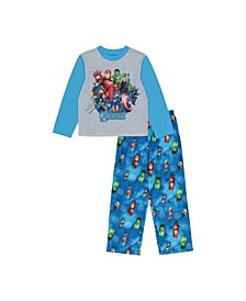 Avengers Little and Big Boys 2-Piece Pajama Set