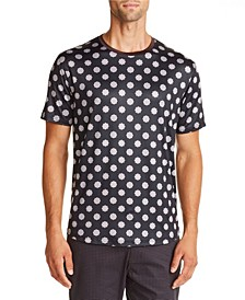 Tallia Men's Slim-Fit Medallion T-Shirt and a Free Face Mask With Purchase