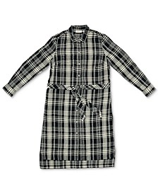 Plaid Shirtdress, Created for Macy's