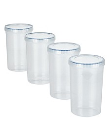 Easy Essentials 8-Pc. Twist Round 44-Oz. Food Storage Set