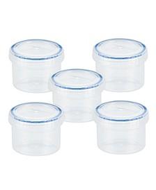 Easy Essentials 5-Pc. Twist Round Food Storage Set