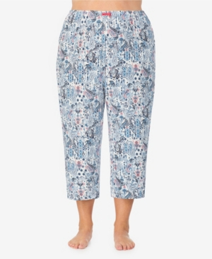 Ellen Tracy WOMEN'S PLUS SIZE CROPPED PAJAMA PANT