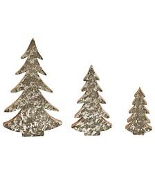 Wood Trees Set of 3 Sizes