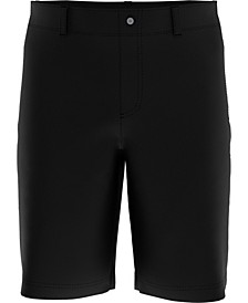 Big Boys Flat Front Solid Golf Shorts