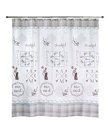 Our Nest Shower Curtain