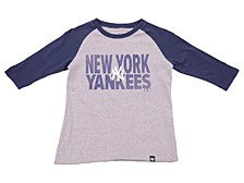 Youth New York Yankees Fast Track Raglan T-Shirt