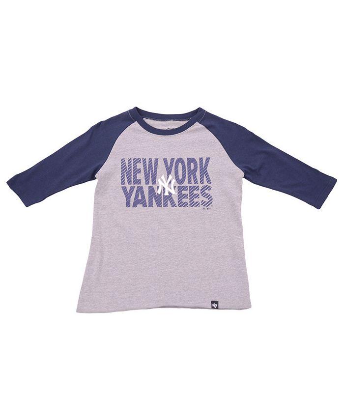 '47 Brand - Youth New York Yankees Fast Track Raglan T-Shirt