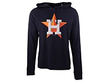 '47 Brand Men's Houston Astros Imprint Club Long Sleeve Hooded T-Shirt