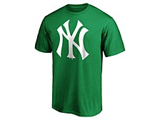 Men's New York Yankees St. Pattys Bold Logo T-Shirt