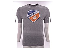 Men's FC Cincinnati Distressed Primary Logo T-Shirt