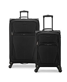 Esther 2-Piece Softside Expandable Spinner Luggage Set