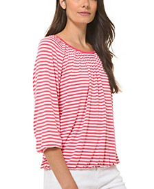 Striped Top, Regular & Petite Sizes