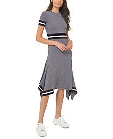 Houndstooth T-Shirt Dress