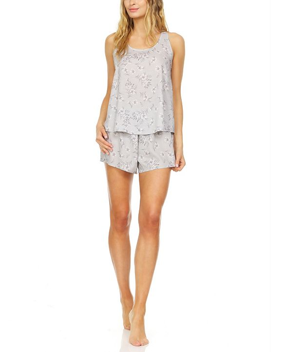 Flora by Flora Nikrooz Mariah Tank & Shorts Pajama Set