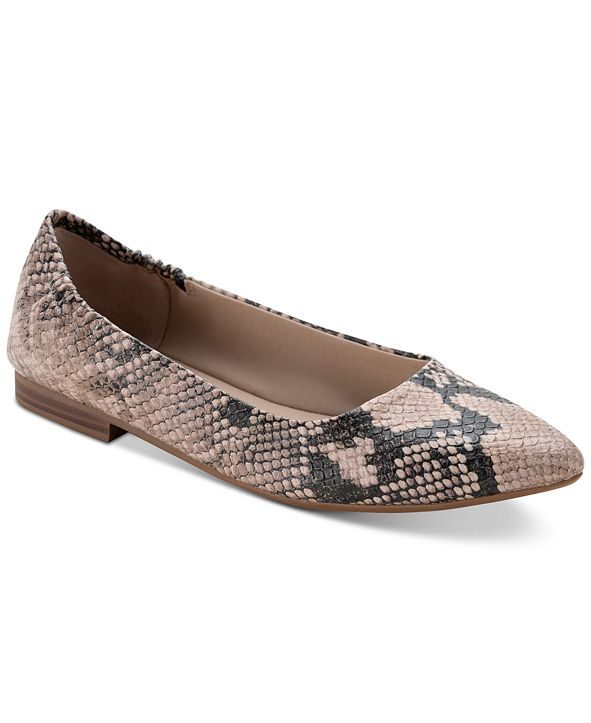 Sun + Stone Jilly Pointed-Toe Flats, Created for Macy's