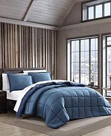 Sherwood Blue Twin Comforter Set