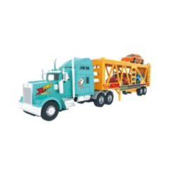 Mag-Genius Big-Daddy Big Rig Transport Truck with 3 Cars Toy