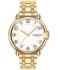 Women's Arden Gold-Plated Bracelet Watch 36mm
