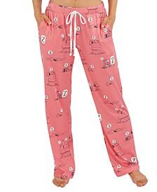 Vintage Snoopy Z Pajama Pants