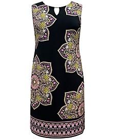 June Paisley-Print Sheath Dress, Created for Macy's