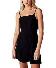 COTTON ON Women's Woven Kendall Mini Dress