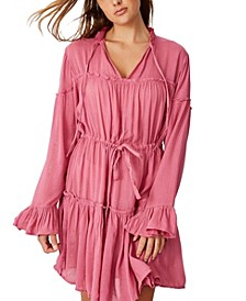 Woven Sharni Smock Mini Dress