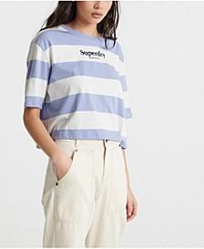 Women's Harper Stripe Boxy T-Shirt