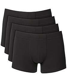 Men's 4-Pack Boxer Briefs, Created for Macy's