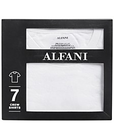 Men's 7-Pack Crewneck T-Shirts, Created for Macy's