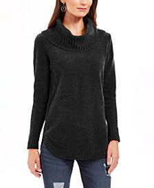 Style & Co Chenille Cowlneck Tunic, Created for Macy's